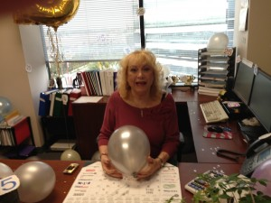 Donna brightens every day at the Anaheim, CA, branch of Employers Resource!