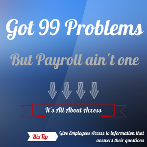 Employee Payroll: All About Access | Employers Resource