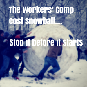 work comp cost snowball