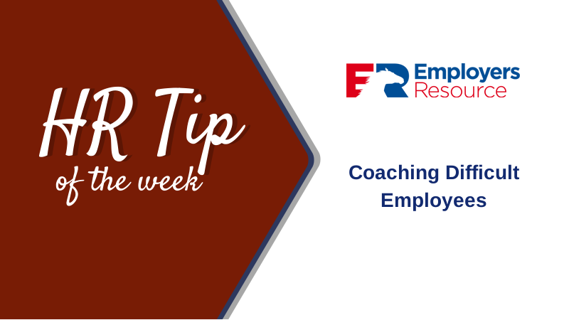 coaching difficult employees hr tip