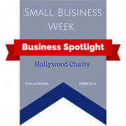 Banner - Small business week - Business Spotlight - Hollywood Chairs