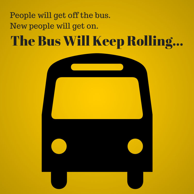 the bus keeps rolling