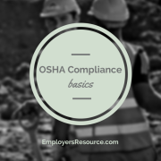 Workers with hard hats and orange vests on - OSHA compliance basics