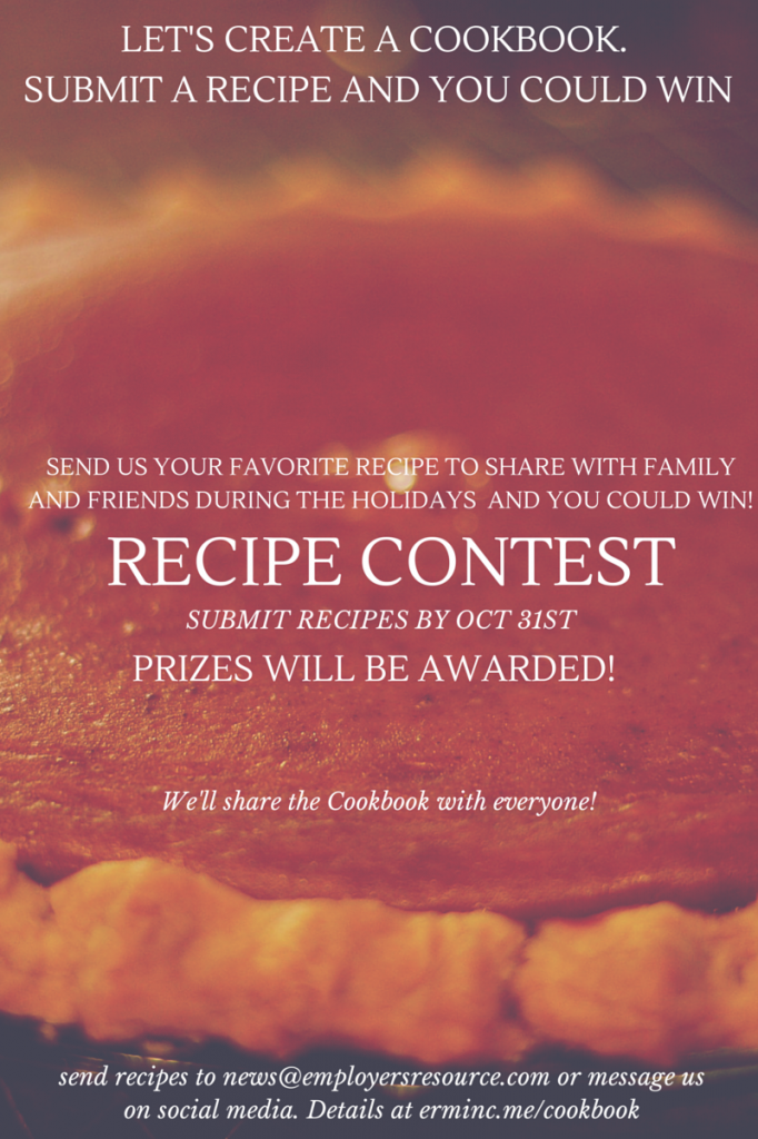 let s make a cookbook together contest employers resource