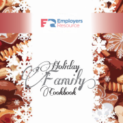 Employers Resource Holiday Family Cookbook Cover