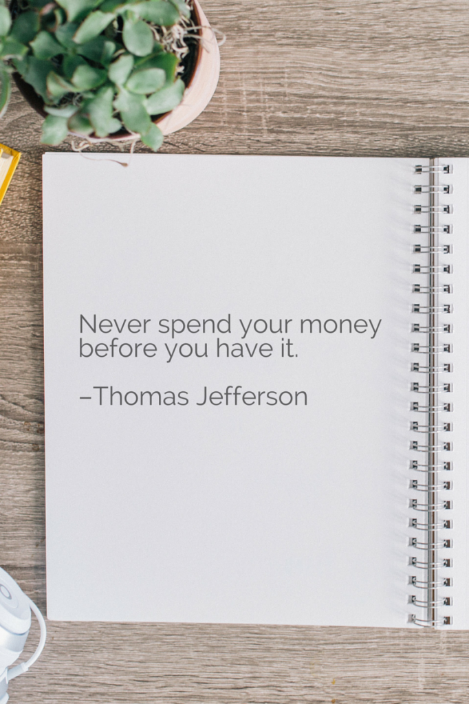 budget tips quote 2