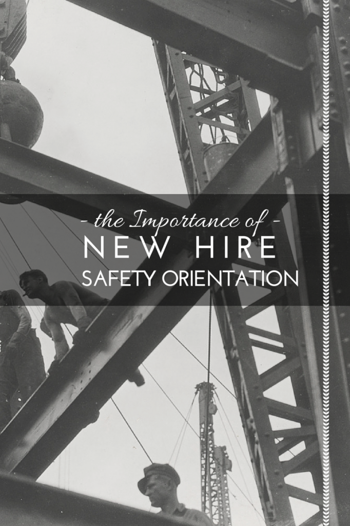 new hire safety orientation