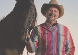 George Gersema and his horse