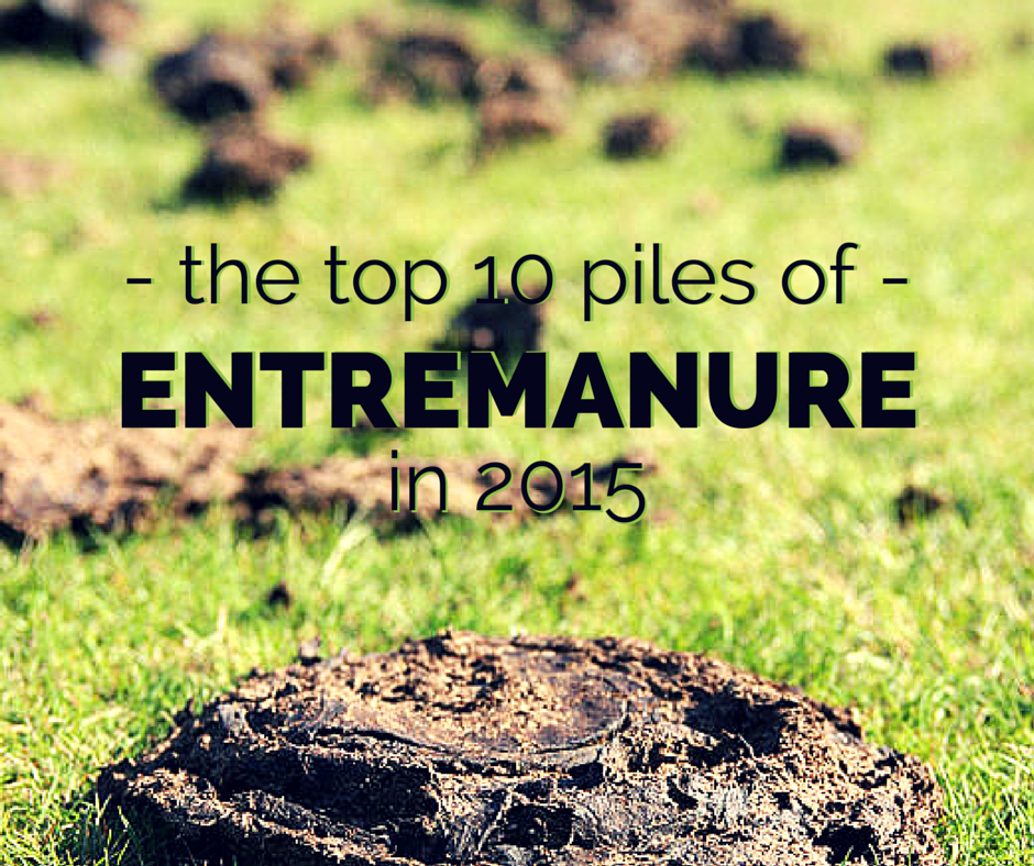 top 10 piles of entremanure 2015