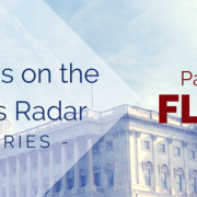 U.S. Capital Building with title - What's on the Fed's Radar - Series - Part 1 FLSA