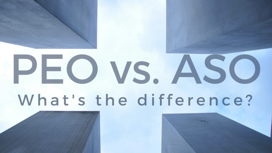 PEO vs. ASO What's the difference?
