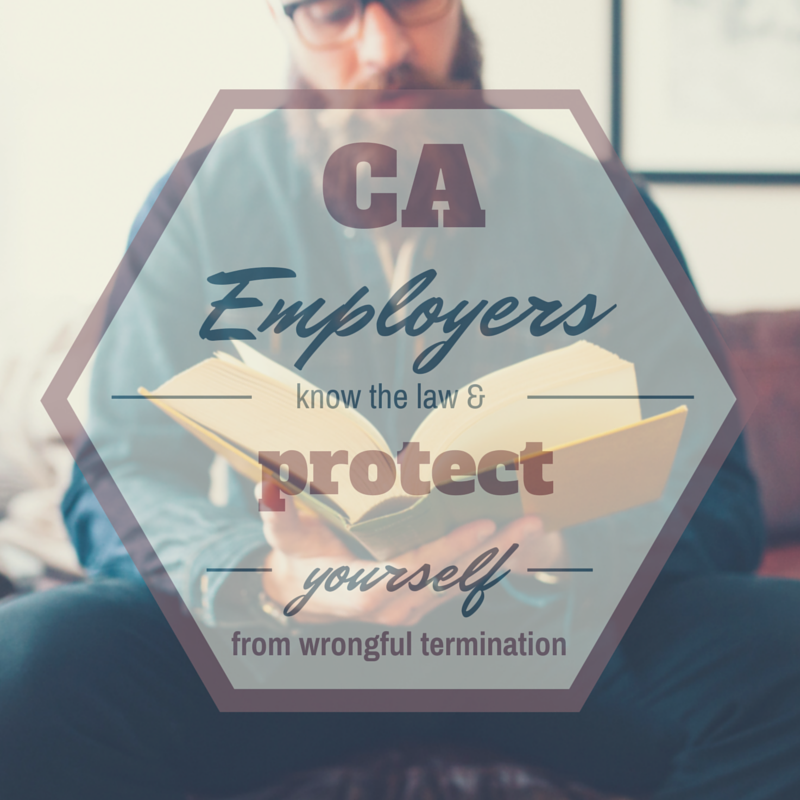 Use this california termination checklist to protect your business man with a beard reading a very thick book title ca employers know the solutioingenieria