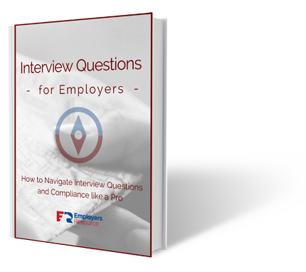 Book with Interview Questions For Employers cover