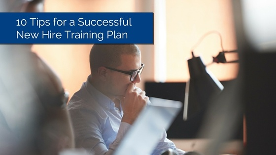 new hire training plan