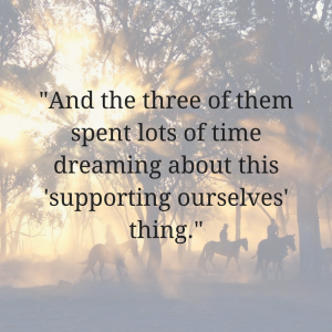 supporting ourselves thing image quote for our story