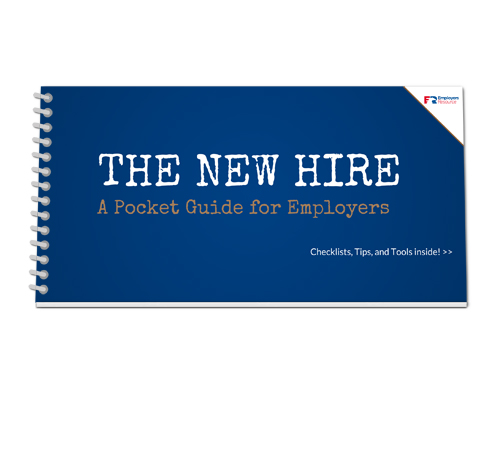 New Hire Pocket Guide Cover