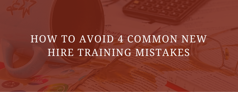 how to avoid 4 common new hire training mistakes red messy desk