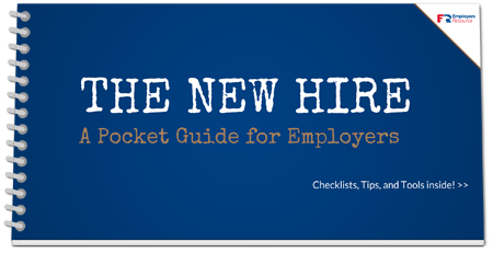 Book with New Hire Pocket Guide cover