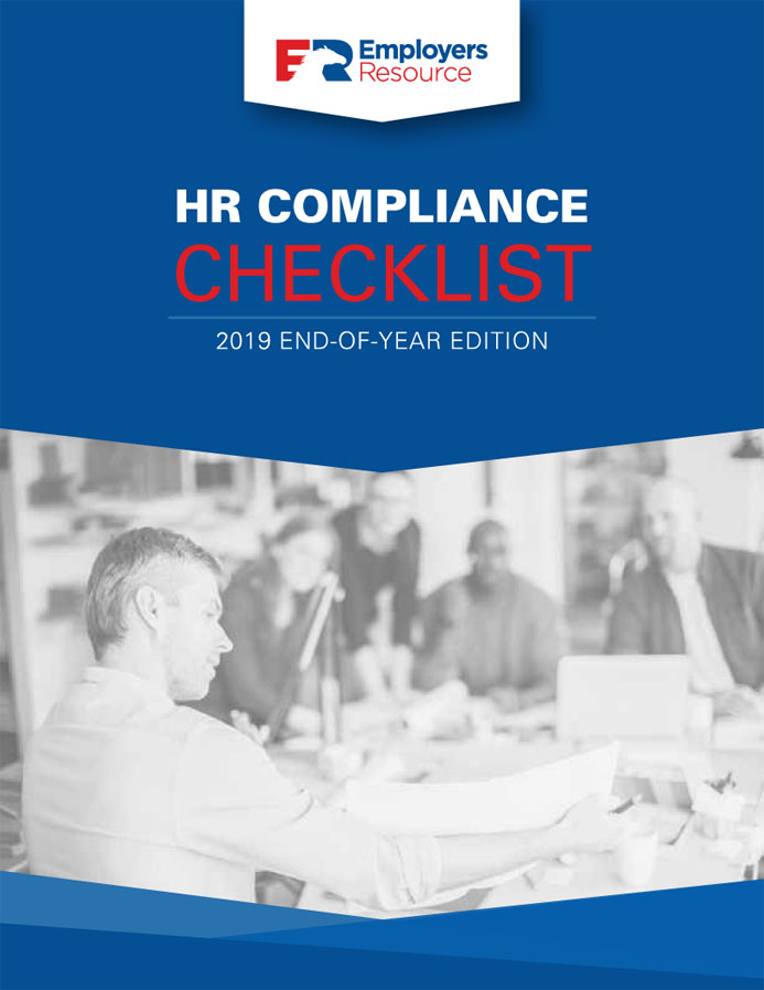2019 End of Year HR Compliance Checklist Cover