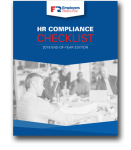 2019 End of Year HR Checklist Cover