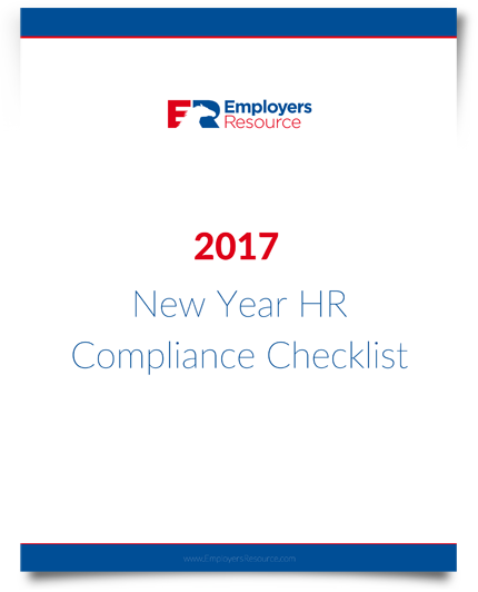 New Year Hr Compliance Checklist cover