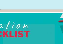 vacation checklist banner image