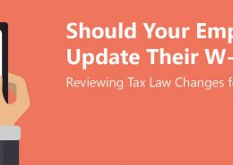 Should Your Employees Update Their W-4s?